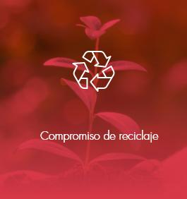 compromiso de reciclaje - sostenibilidad